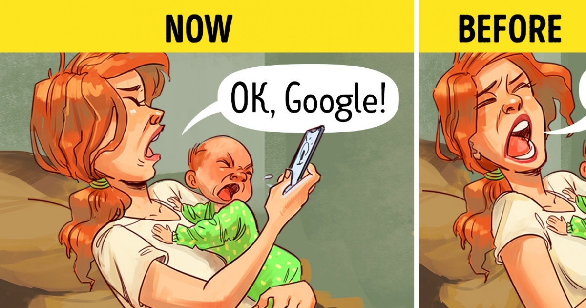 15 Comics That Show a Tremendous Difference Between the Recent Past and the Present